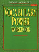 Glencoe Language Arts, Grade 8, Vocabulary Power Workbook
