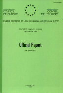 Official Report of Debates Council of Europe. Consultative Assembly [Pdf/ePub] eBook