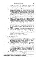 Copyright Law Revision  Preliminary draft for revised U S  Copyright law