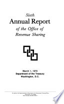 Annual Report of the Office of Revenue Sharing, U.S. Department of the Treasury for Fiscal Year