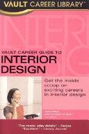 Vault Career Guide to Interior Design