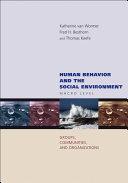 Human Behavior and the Social Environment  Macro Level
