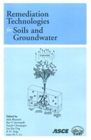 Remediation Technologies for Soils and Groundwater Book