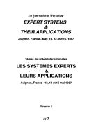 7th International Workshop  Expert systems   their applications Book