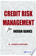 Credit Risk Management for Indian Banks Book