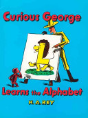 Curious George Learns the Alphabet banner backdrop