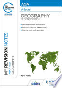 My Revision Notes  AQA A level Geography  Second Edition