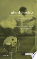 Global Bioethics Book