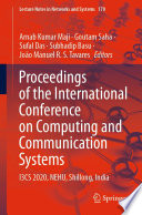Proceedings of the International Conference on Computing and Communication Systems Book