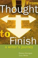 From Thought to Finish Book