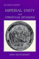 Imperial unity and Christian divisions