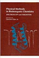 Physical Methods in Bioinorganic Chemistry