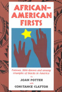 African American Firsts Book