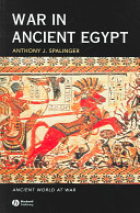 Cover of War in Ancient Egypt