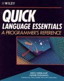 Quick Language Essentials