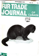 Fur Trade Journal of Canada