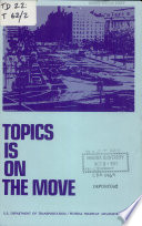 TOPICS is on the Move Book PDF