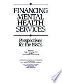 Financing Mental Health Services