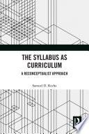 The Syllabus as Curriculum