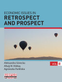 ECONOMIC ISSUES IN RETROSPECT AND PROSPECT II
