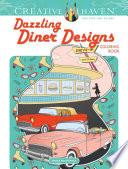 Creative Haven Dazzling Diner Designs Coloring Book