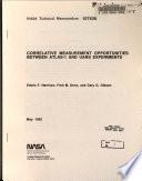 Correlative Measurement Opportunities Between ATLAS-1 and UARS Experiments