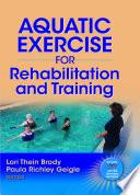 Aquatic Exercise For Rehabilitation And Training Book PDF