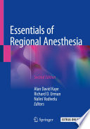 Essentials of Regional Anesthesia Book