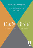 Pdf The Daily Bible® - In Chronological Order (NIV®) Telecharger