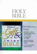 The Deluxe Gift and Award Bible