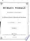 Burke s Weekly for Boys and Girls Book PDF