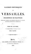 Galeries historiques de Versailles