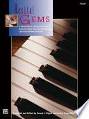 Recital Gems  Book 1