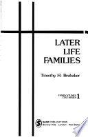 Later life families