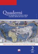 Quaderni del Dipartimento di Scienze Politiche Università Cattolica del Sacro Cuore