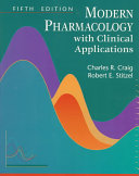 Modern Pharmacology with Clinical Applications Book