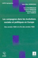Les campagnes dans les évolutions sociales et politiques en Europe