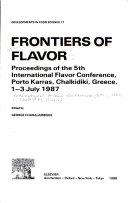 Frontiers of Flavor