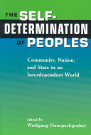 The Self-determination of Peoples