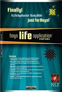 Boy's Life Application Study Bible-NLT