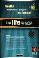 Boy s Life Application Study Bible NLT