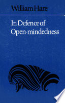In Defence Of Open Mindedness Book PDF