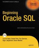 Pdf Beginning Oracle SQL Telecharger