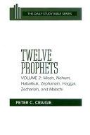 Pdf Twelve Prophets: Micah, Nahum, Habakkuk, Zephaniah, Haggai, Zechariah, and Malachi