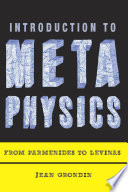 Introduction To Metaphysics Book PDF