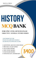 UPSC Subjectwise Objective GS Series: HISTORY