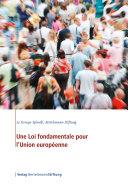 Pdf Une Loi fondamentale pour l'Union européenne Telecharger