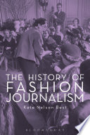 The History of Fashion Journalism Book