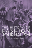 Pdf The History of Fashion Journalism Telecharger
