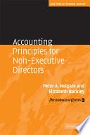 Accounting Principles for Non Executive Directors